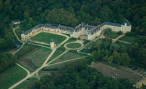 Château de Gizeux. Centre-Val-de-Loire