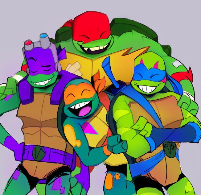 Rise Of The Teenage Mutant Ninja Turtles Teenage Mutant Ninja Turtles Art Ninja Turtles Art Teenage Ninja Turtles