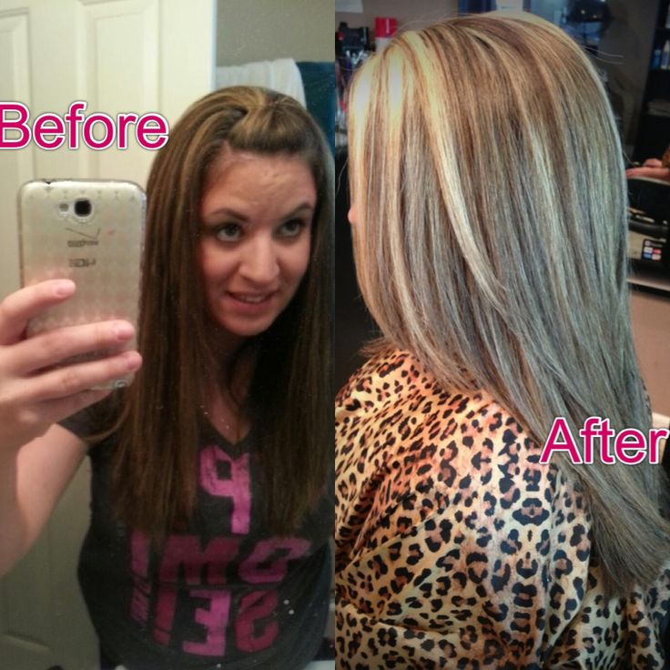 Highlights All Over Color Hair Pinterest Of All Over Hair Color With