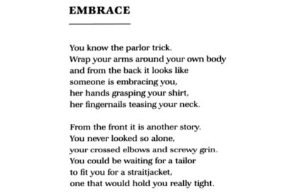 Embrace by billy collins essays