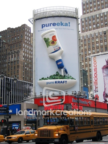 Inflatable Billboard! Inflatable Kraft Ranch Salad Dressing with ...