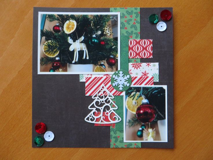 Our christmas tree (6x6 page)