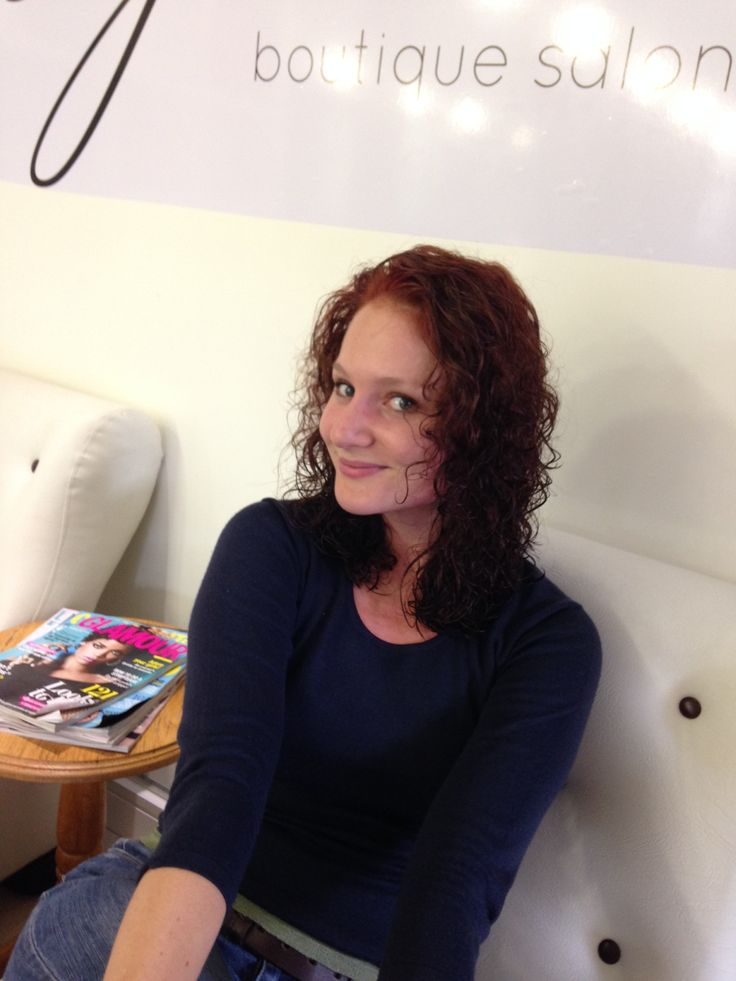 And Voila! Christl Weinbeck is now a blazing red head! She is thrilled with the results! Thank you for depositing your trust on our hands.