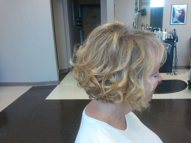 Hairstyles For Mother Of The Bride Impressive Curled Bob Mother Of The Bride Short Hair Wedding Style  Mindy's