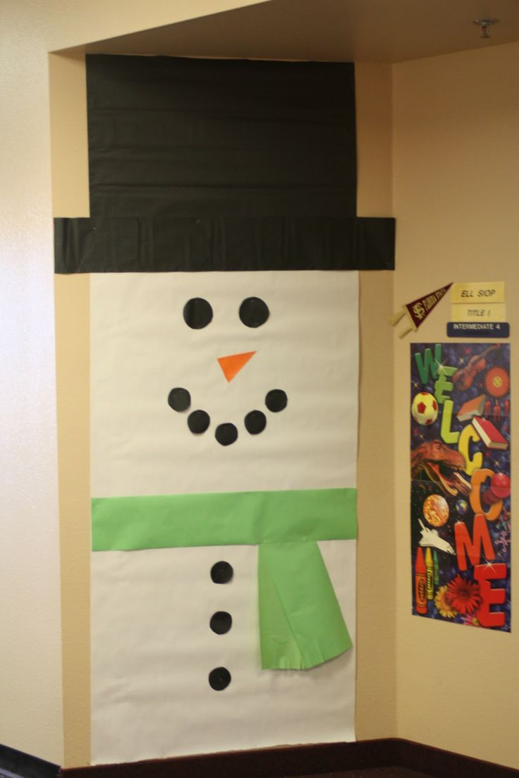 Winter Decorations For Preschool Classroom ~ Best ideas about preschool door on pinterest