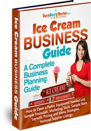 Ice Cream Business Plan help. This free E-Book will tell you everything you need to know before you decide whether opening an ice cream store is for you.