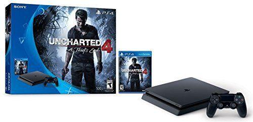 Playstation 4 Slim 500GB Console Uncharted Bundle