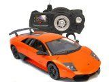 Special Offers - 1/14 Scale Orange Lamborghini Murcielago LP670-4 SV Radio Remote Control Model Car R/C RTR - In stock & Free Shipping. You can save more money! Check It (March 31 2016 at 09:40PM) >> http://rchelicopterusa.net/114-scale-orange-lamborghini-murcielago-lp670-4-sv-radio-remote-control-model-car-rc-rtr/