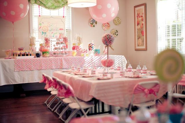 Sweet Shoppe 6th Birthday Party