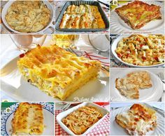 Le ricette di pasta al forno scelte per le feste sono dieci primi piatti preferiti scelti dal mio blog che ritengo adatti per le festività, e ricorrenze.