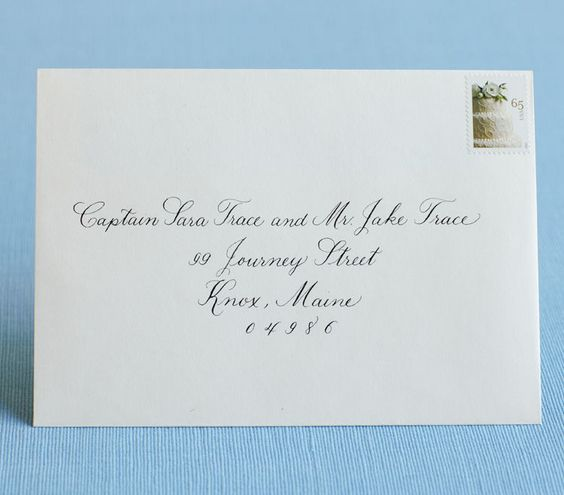Wedding Invitation Address Etiquette: Best 25+ How To Address Invitations Ideas On Pinterest