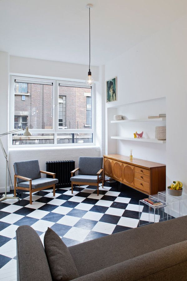 London Studio Becomes a One Bedroom Apartment Photo