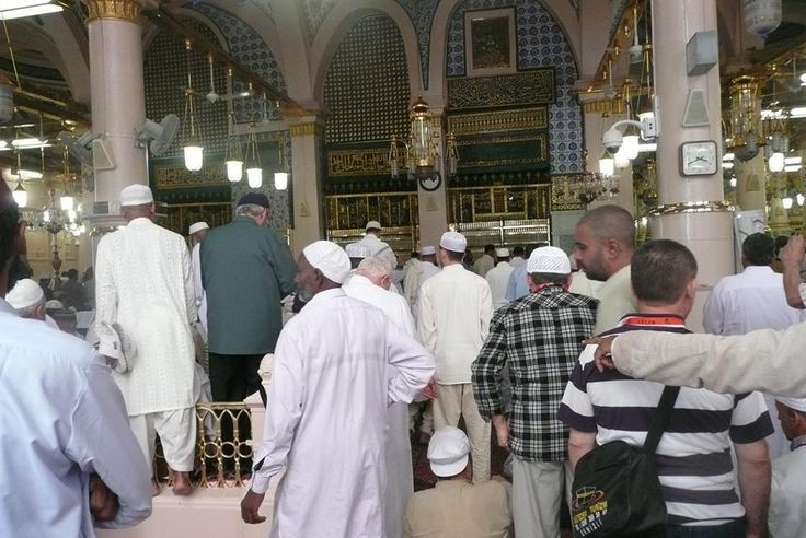 May All of us get a chance to pray in the Raudah