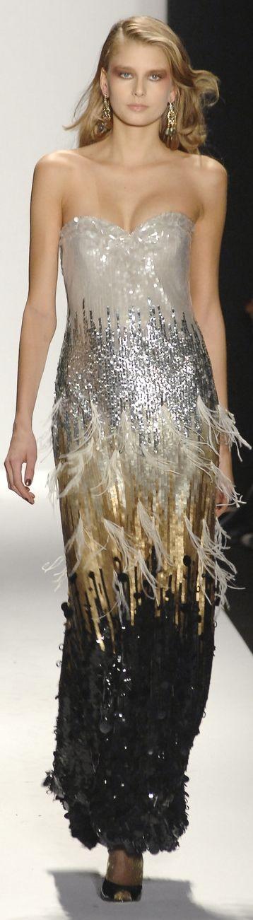 Badgley Mischka - Sparkling Gold, Silver, & Onyx