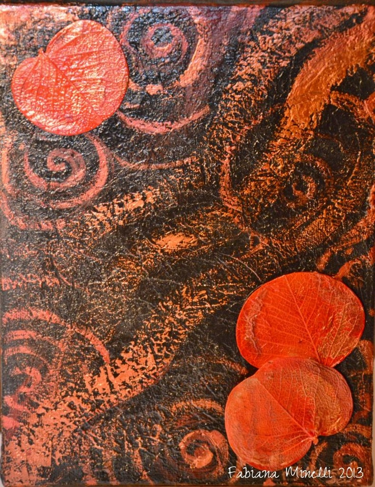 """""""Red Leaves"""" di Fabiana Minelli (WireDecò)"""
