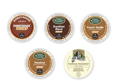 30-count All DECAF K-cup Variety Sampler Pack (5 Flavors, 6 K-Cups Each) - http://teacoffeestore.com/30-count-all-decaf-k-cup-variety-sampler-pack-5-flavors-6-k-cups-each/