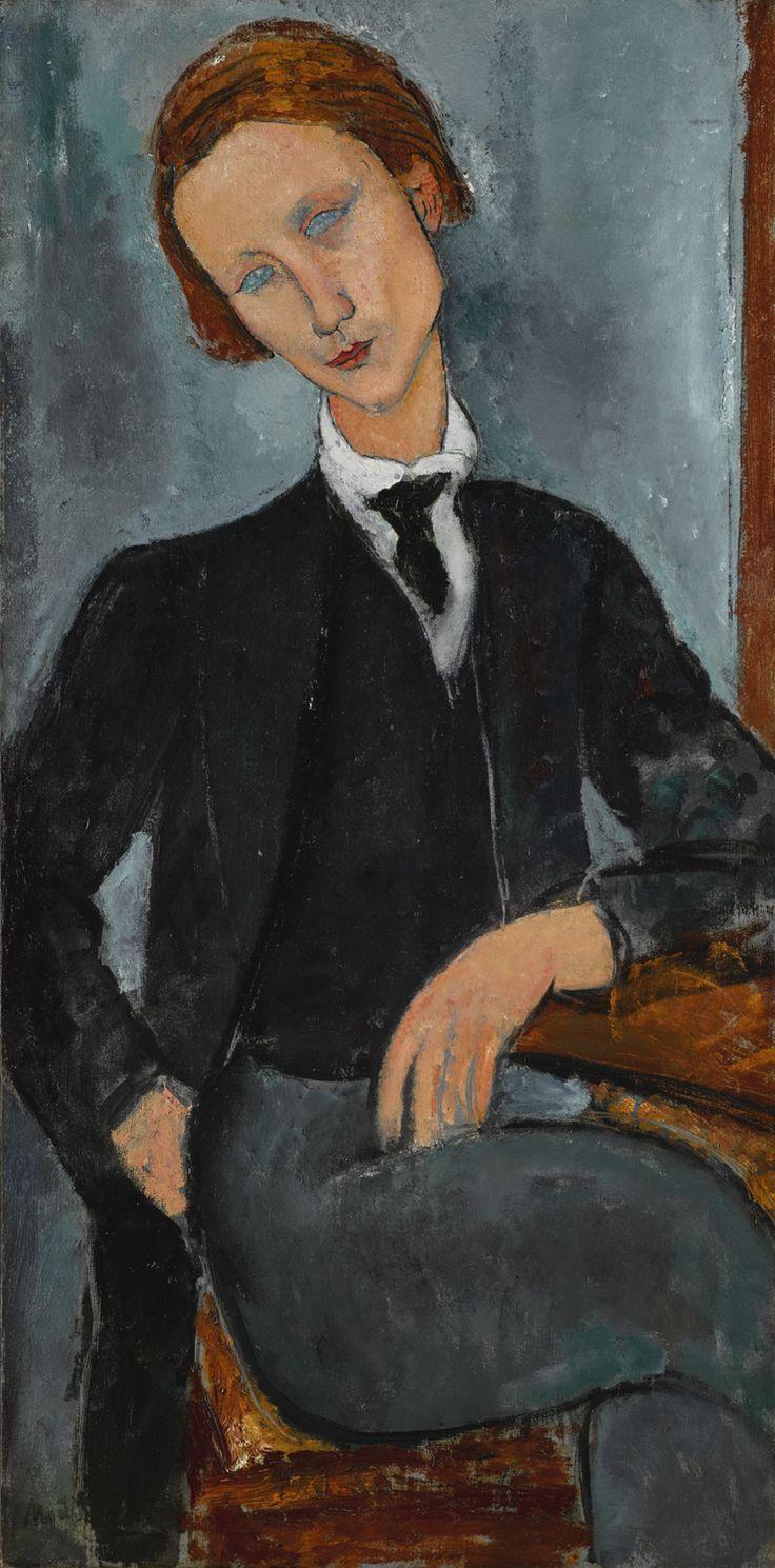 Portrait de Baranowski, 1918. Amedeo Modigliani.