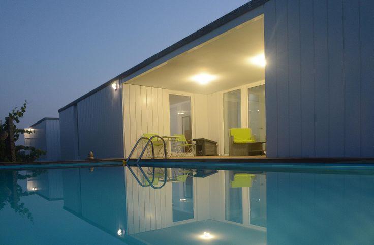 M s de 25 ideas incre bles sobre piscinas de hormigon en - Vivienda modular hormigon ...