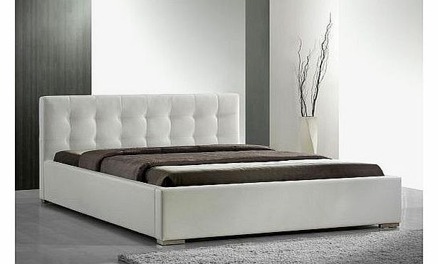 Interama Cool faux leather sleigh bed in colour white sizes: 63x79 in (160x200cm) double beds frames upholste No description (Barcode EAN = 4260184093748). http://www.comparestoreprices.co.uk/bedsteads/interama-cool-faux-leather-sleigh-bed-in-colour-white-sizes-63x79-in-160x200cm-double-beds-frames-upholste.asp