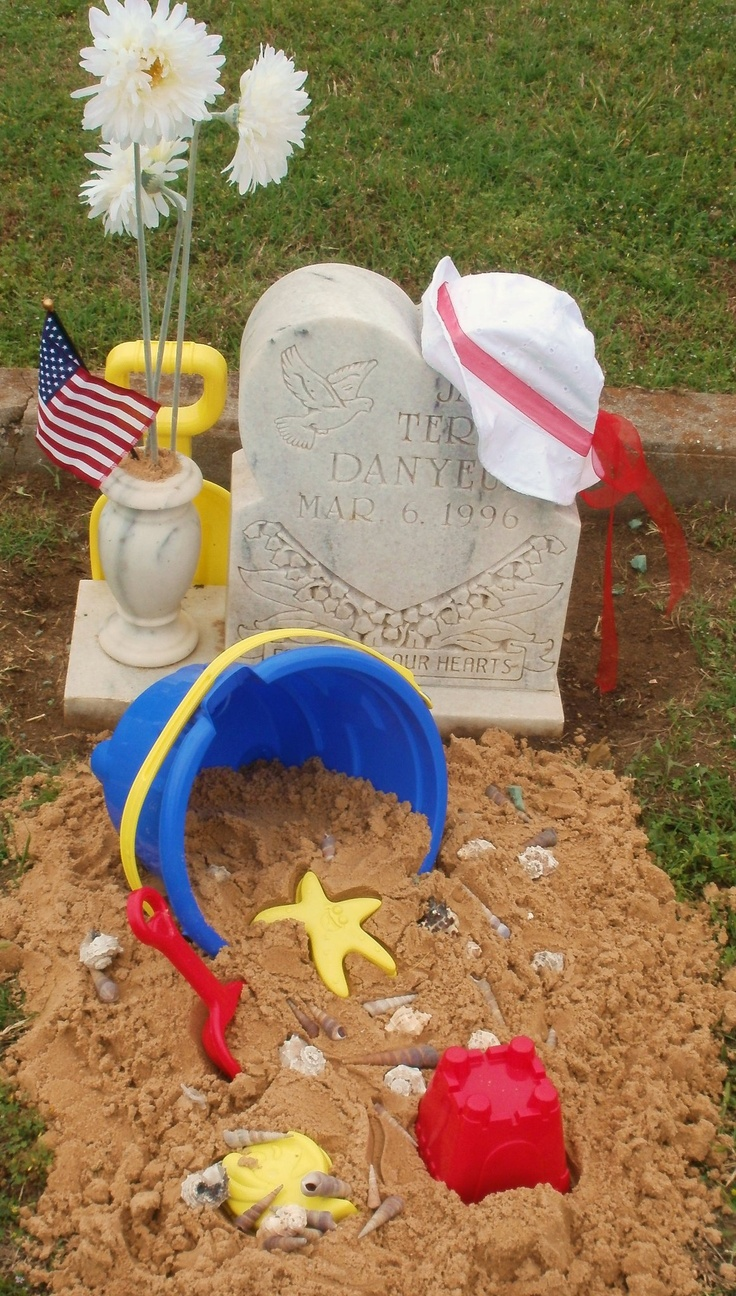 225 best grave decoration ideas images on pinterest crafts angel my babies grave izmirmasajfo