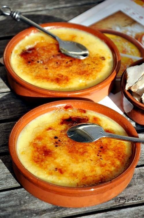 Crème catalane - La cuisine de Doria