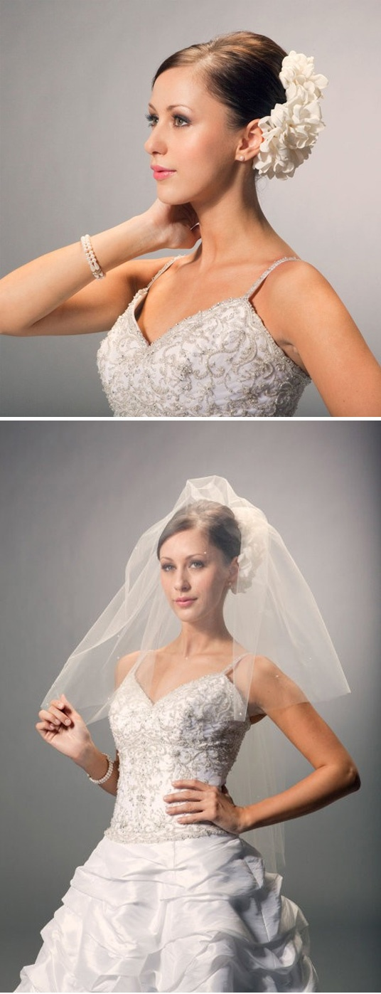 98 best Wedding Veils & Headpieces images on Pinterest ...