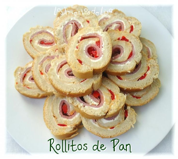 Los Inventos de Lisa: Rollitos de Pan ( Pan Relleno)