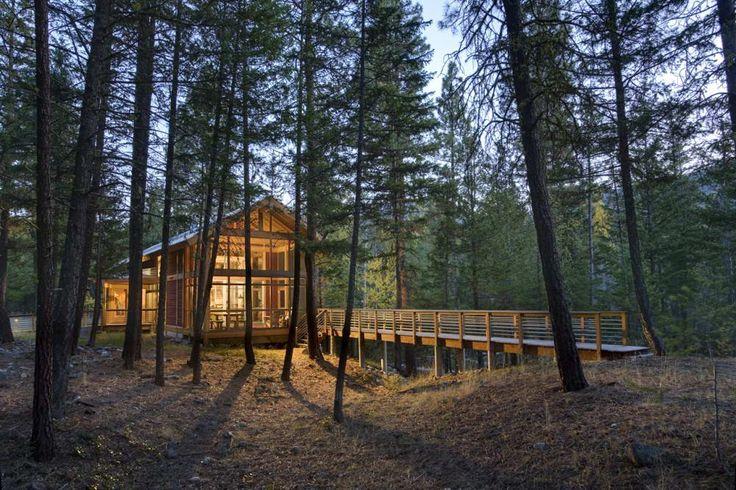 Maison en bois Etats-Unis 2