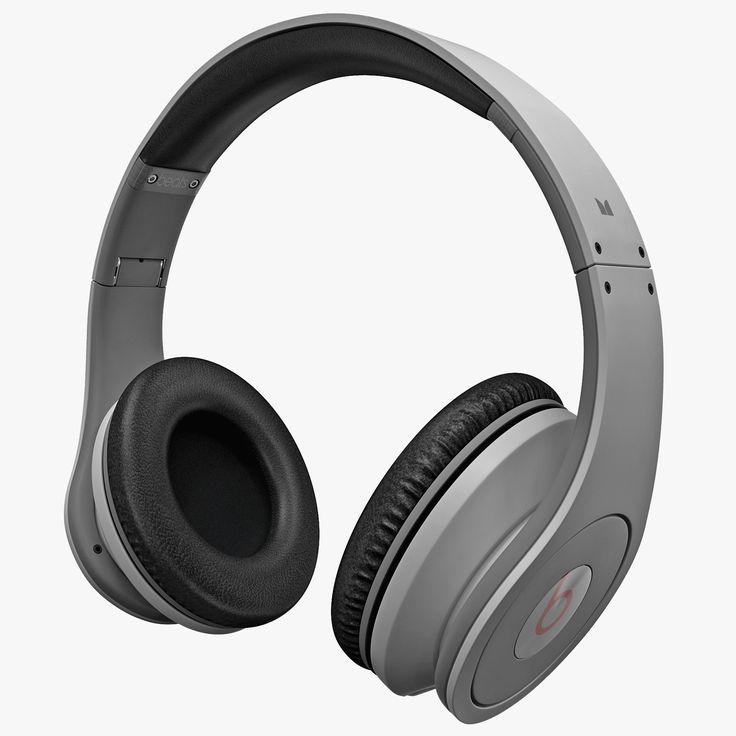 Monster Beats Studio Headphones 3Ds - 3D Model