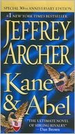 Kane and Abel- all jeffrey archer's bks are genius!