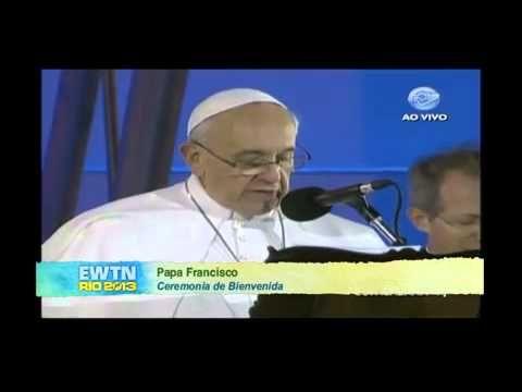 Homilia del Papa en Copacabana en Fiesta de la acogida JMJ 1013