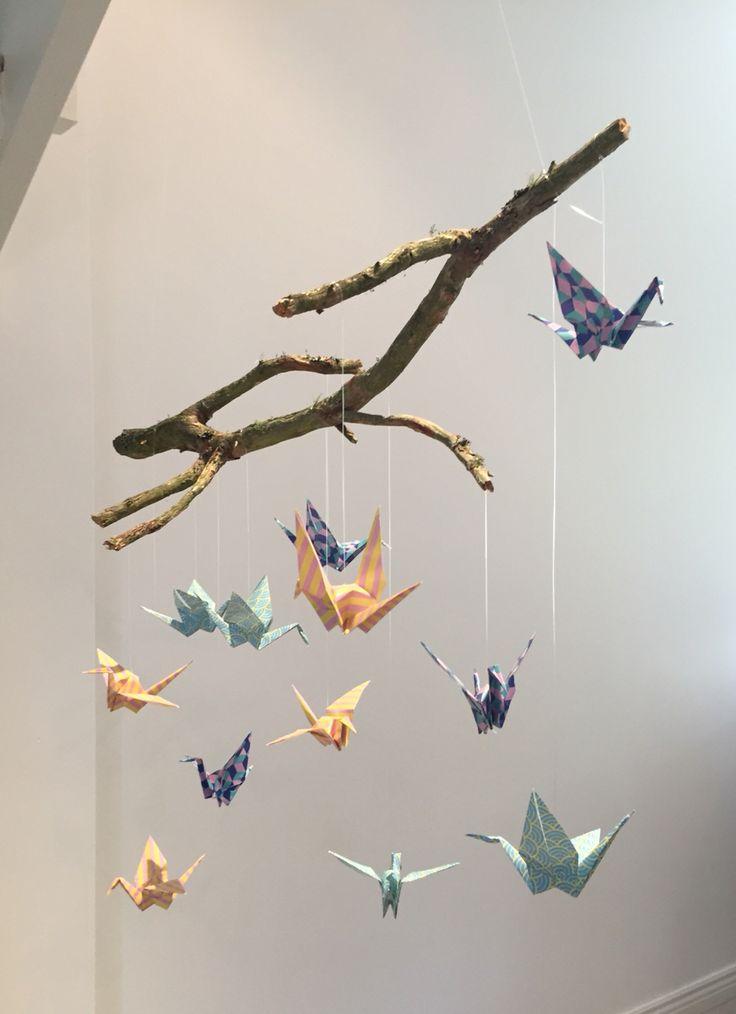 Mobile origami kurjista