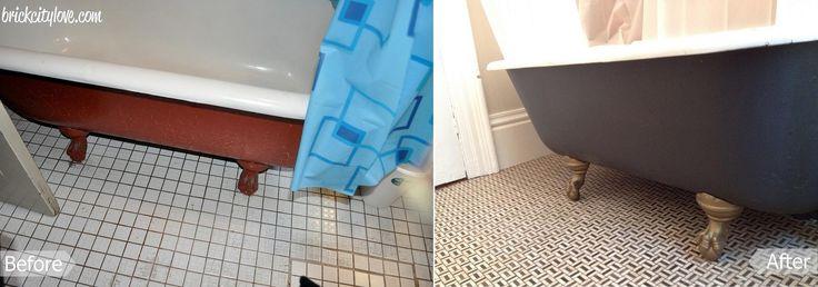 2nd floor bath before-after 6. Complete reno of bathroom