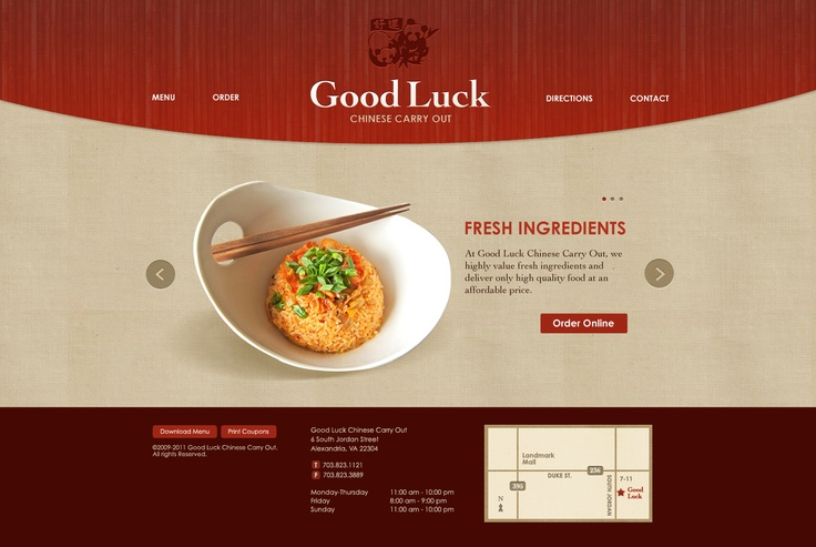 Just trying to look at restaurant websites that strike me as upscale.  This one is nice.