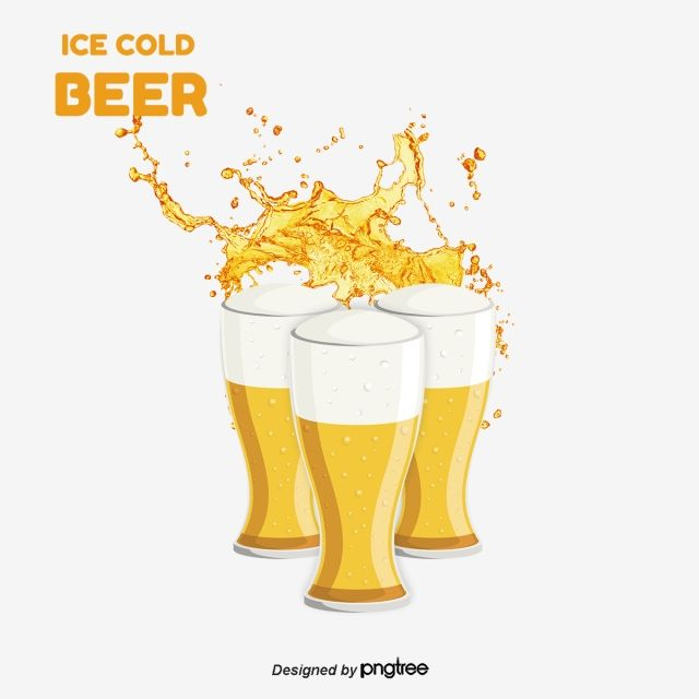 Creative Beer Cartoon Beer Beer Beer Foam Png Transparent Clipart Image And Psd File For Free Download Beer Design Beer Food Poster Design