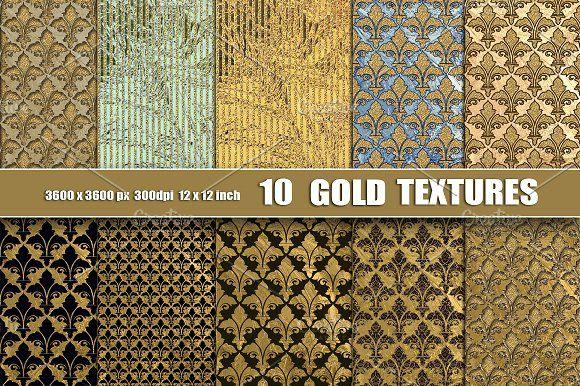 Gold Black Texture Backgrounds by Area on @creativemarket