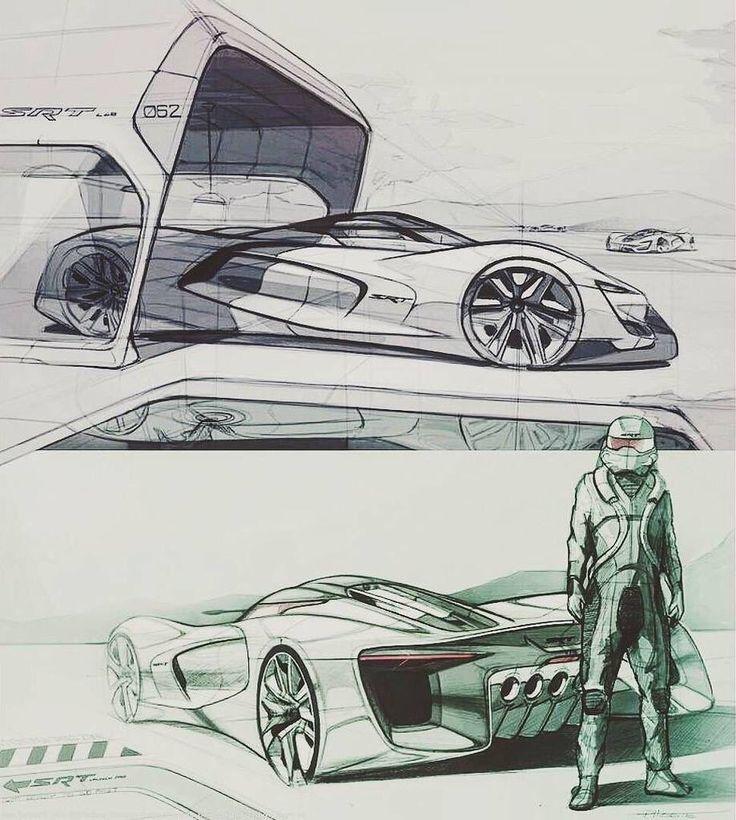 Pin von Isaac Moskin auf Auto Design SKETCH Design autos