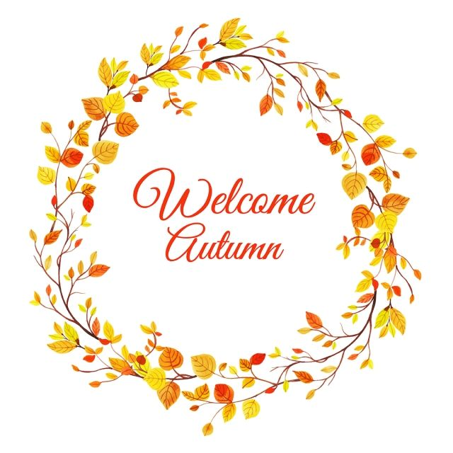 Beautiful Watercolor Autumn Leaves Wreath Watercolor Paint Frame Png And Vector With Transparent Background For Free Download Watercolor Autumn Leaves Christmas Wreath Illustration Wreath Illustration
