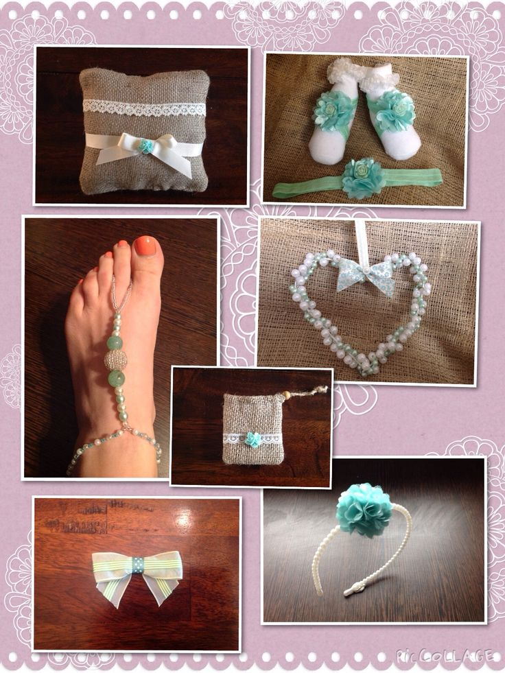 Handmade luxury bespoke wedding accessories created by Lilly Dilly's #wedding #bespoke #luxury #handmade #green #blue #turquoise #aqua #hair #ring #flowergirl #mint #Accessories