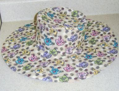 Wide Brim Hat Made from Wild Things! Pattern - Debbie Colgrove, Licensed to About.com