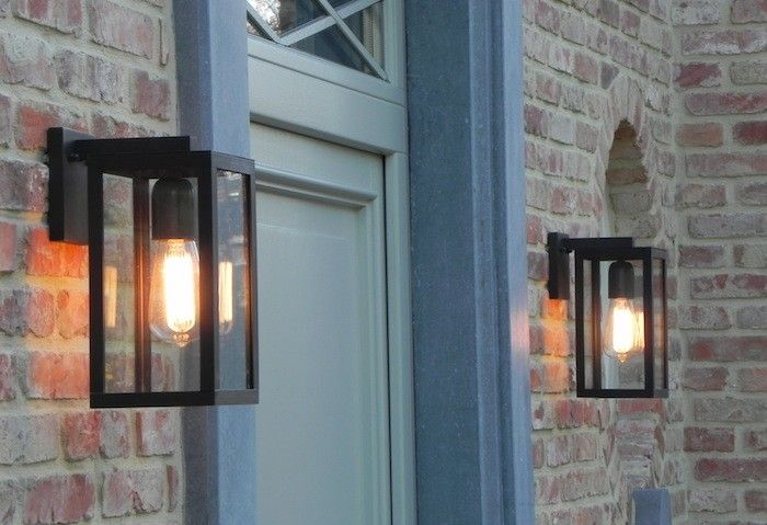 This Old House provides outdoor fixture mounting guidelines which suggest that wall mounted fixtures should be placed with their center 66 inches from the ground; flush ceiling lights should be a minimum of 80 inches from the ground, and pendants at 84 inches above the ground or higher.