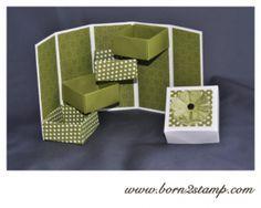 Stampin' UP! Box mit DSP Polka Dot Parade
