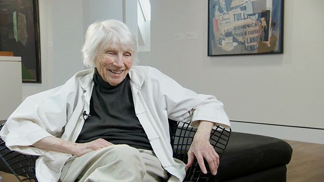 Eunice Parsons is a 97-year-old Portland collage artist who works every day. Check out the video. She is an inspiration!