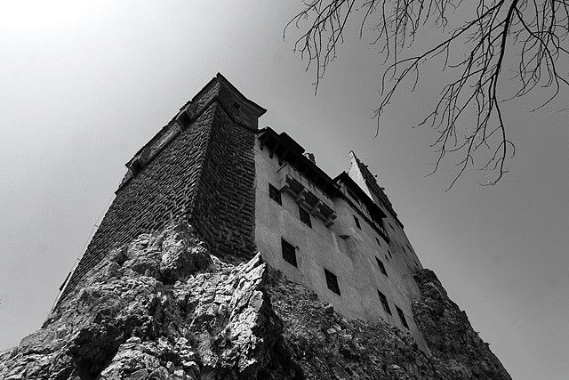 "Bran Castle, Romania. It is know as ""Dracula's Castle"". In fact the character of Dracula is inspired of Vlad Ţepeş prince of Wallachia (aka Vlad III the Impaler) and he probably never stayed at this castle... but people would do anything to attract tourists"
