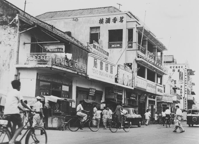 glodok jakarta | 1953-1960: Daerah Pecinan di Glodok, Jakarta.
