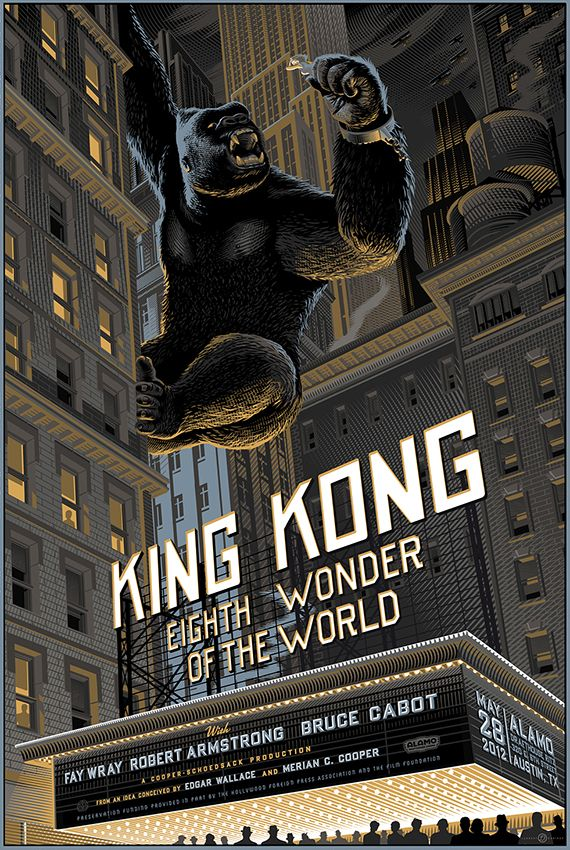 Il Redessine et Réinvente de Superbes Affiches de Films Mythiques | Buzzly