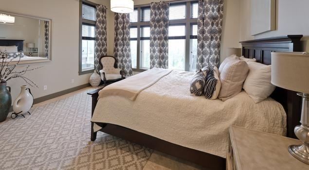 Elegancka sypialnia na dobranoc...Zzzzzzz...