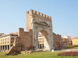 Augustus Arch in Rimini