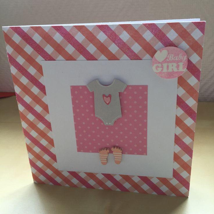 Carte félicitations naissance pour une petite fille : Cartes par sab-and-paper