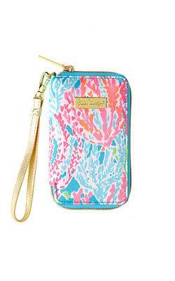 Tiki Palm iPhone 6/6S Wristlet